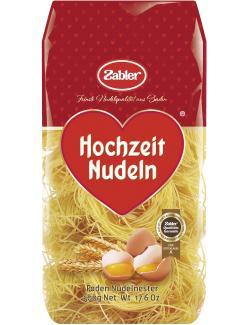Zabler Hochzeit Nudeln Faden Nudelnester