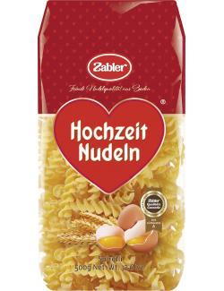 Zabler Hochzeit Nudeln Spirelli