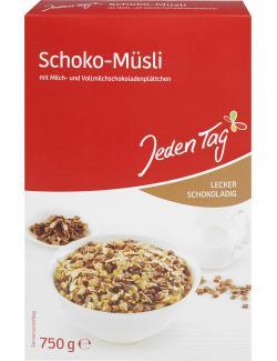 Jeden Tag Schoko-Müsli