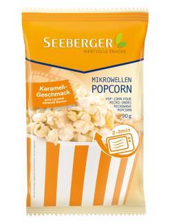Seeberger Mikrowellen Popcorn Karamell