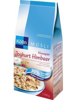 Kölln Müsli Knusper Joghurt Himbeer (1,70 kg) - 4000540003550