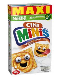 Nestlé Cini Minis, Cerealien mit Zimtgeschmack und Vollkorn Maxipack