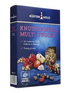 Küstengold Knuspermüsli Multi Frucht
