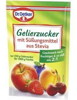 Dr. Oetker Gelierzucker mit Süßungsmittel aus Stevia