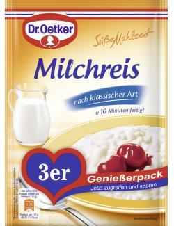 Dr. Oetker Süße Mahlzeit Milchreis nach klassischer Art (3 St.) - 4000521769901