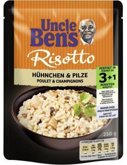 Uncle Ben's Risotto Hühnchen & Pilze