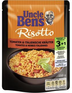 Uncle Ben's Risotto Tomaten & italienische Kräuter