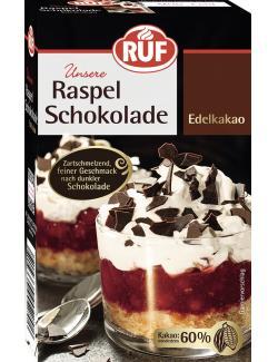 Ruf Raspel Schokolade Edelkakao
