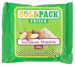 Goldpack Frisch geriebene Mandeln (200 g) - 9001466201384