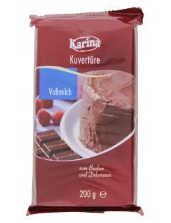 Karina Kuvertüre Vollmilch (200 g) - 4001743055803