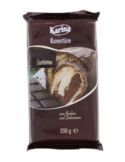 Karina Kuvertüre Zartbitter (200 g) - 4001743055827