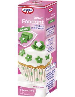 Dr. Oetker Dekor Fondant grün (100 g) - 4000521013363