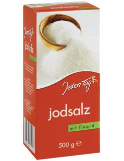 Jeden Tag Jodsalz mit Fluorid (500 g) - 4306180007218