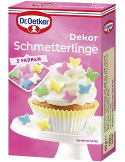 Dr. Oetker Dekor Schmetterlinge