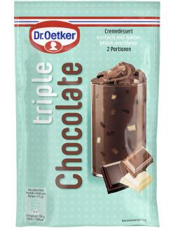 Dr. Oetker Cremedessert Triple Chocolate (100 g) - 4000521014483