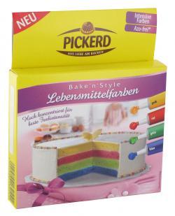 Pickerd Lebensmittelfarben (32 g) - 4022500132551