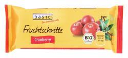 Basic Fruchtschnitte Cranberry