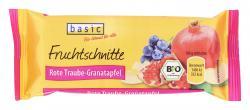 Basic Fruchtschnitte Rote Traube-Granatapfel