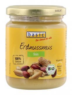Basic Erdnussmus fein