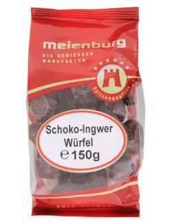 Meienburg Schoko-Ingwer Würfel (150 g) - 4009790001170