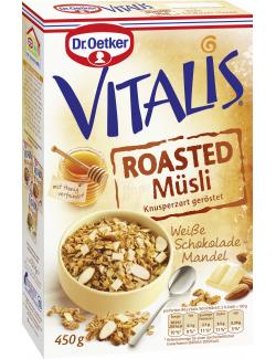 Dr. Oetker Vitalis Roasted Müsli Weiße Schokolade-Mandel (450 g) - 4000521015657