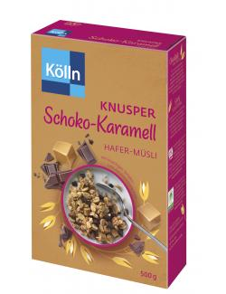 Kölln Knusper Müsli Schoko-Karamell (500 g) - 4000540013764