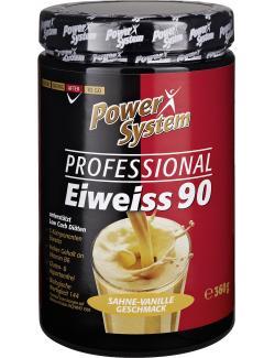 Power System Professional Eiweiss 90 Sahne-Vanille Geschmack