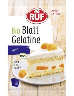 Ruf Bio Blatt Gelatine weiß