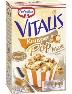 Dr. Oetker Vitalis KnusperPop Karamell (450 g) - 4000521016463