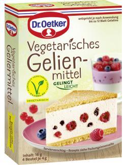 Dr. Oetker Vegetarisches Geliermittel (16 g) - 4000521017378