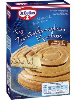 Dr. Oetker Typ Zimtschnecken Kuchen (535 g) - 4000521016784