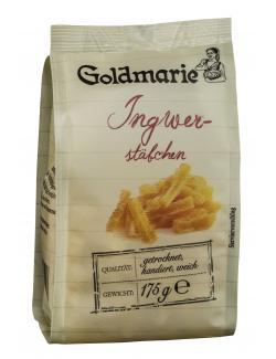 Goldmarie Ingwerstäbchen getrocknet