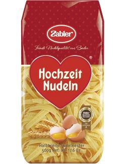 Zabler Hochzeit Nudeln Halbbreite Nudelnester