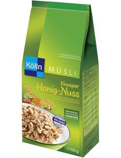 Kölln Müsli Knusper Honig-Nuss (1,70 kg) - 4000540013177