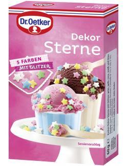Dr. Oetker Dekor Sterne (60 g) - 4000521016685