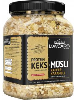 Layenberger LowCarb.one Protein Keks-Müsli Kaffee-Karamell (530 g) - 4036554703308