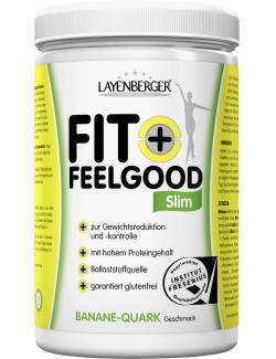 Layenberger Fit+Feelgood Diät-Pulver Banane-Quark (430 g) - 4036554702417