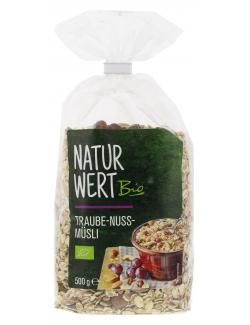 NaturWert Bio Traube-Nuss-Müsli