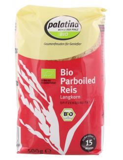Palatina Bio Parboiled Reis Langkorn (500 g) - 4013847735024