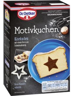 Dr. Oetker Käse-Motivkuchen Stern