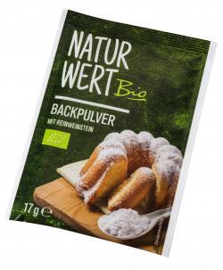 NaturWert Bio Backpulver mit Reinweinstein