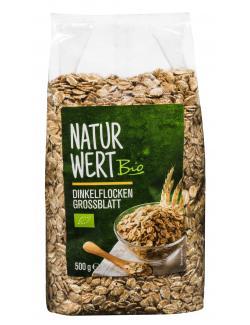 NaturWert Bio Dinkelflocken Großblatt