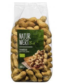 NaturWert Bio Erdnüsse in der Schale