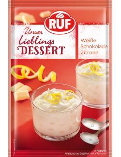 Ruf Lieblingsdessert Weisse Schokolade Zitrone (80 g) - 4002809006104