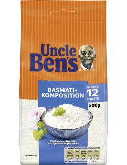 Uncle Ben's Basmati-Komposition 12 Minuten (500 g) - 5410673002020