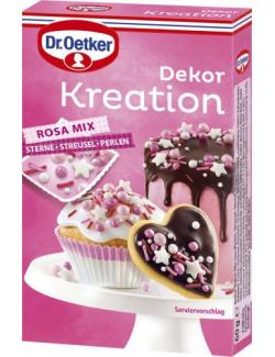 Dr. Oetker Dekor Kreation Rosa Mix