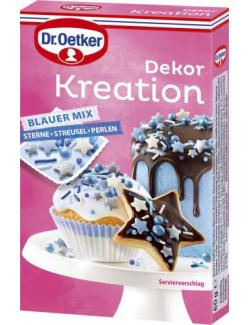 Dr. Oetker Dekor Kreation Blauer Mix