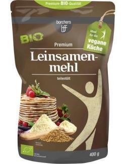 Borchers Bio Leinsamenmehl teilentölt