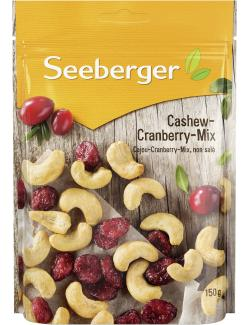 Seeberger Cashew-Cranberry-Mix