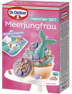 Dr. Oetker Meerjungfrau Dekorier-Set